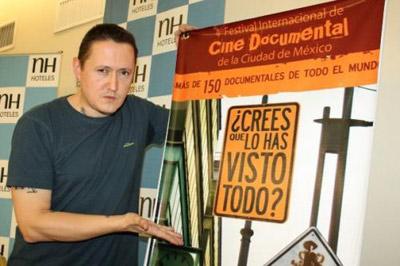 Aurreko edizioan ere Mexikoko DOCS DF jaialdian izen zen Fermin Muguruza (argazkia www.muguruzafm.com)