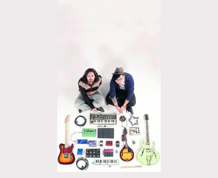 Beñat Fuentes y su colega musical Xujun forman 'The tree'