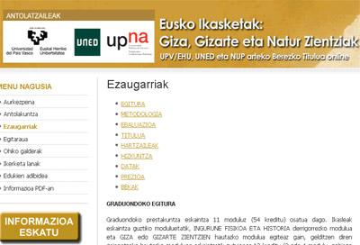 Toda la información sobre el curso, programa, fechas y contenidos... en la web de Asmoz Fundazioa