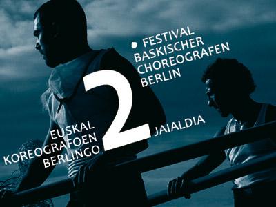 Berlingo Euskal Koreografoen 2. Jaialdiaren afitxa