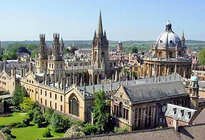 Oxfordeko Unibertsitatea Europako ikasketa zentrorik entzutetsuenetakoa da