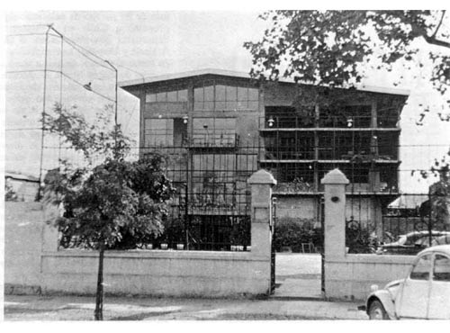 La sede de Euzko Etxea en Vicuña MacKenna poco más de medio siglo atrás (foto cortesía de Pedro Oyanguren)
