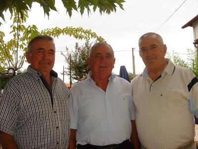 Jean Luis Oçafrain, Gratien Oçafrain y Michel Duhalde (foto Pedro J. Oiarzabal)