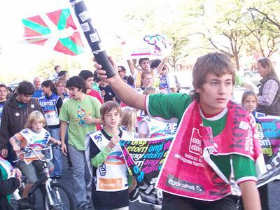 Korrika 16 en la ciudad argentina de Necochea, en el año 2009 (foto Iñaki Agostini Zubillaga)