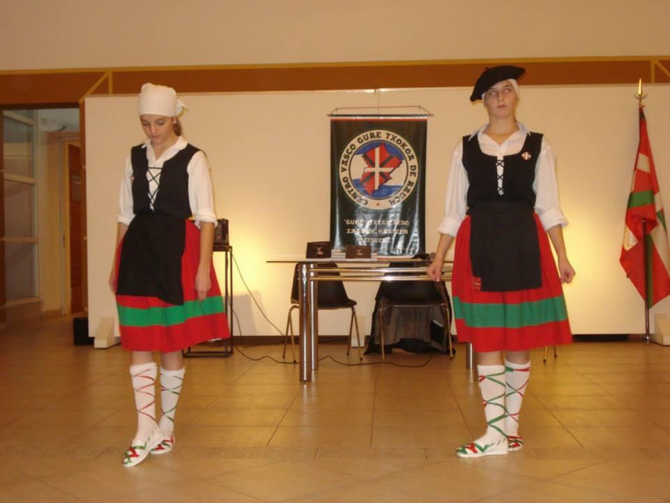 Basque festival in Rauch performing the Gure Txokoa dancers