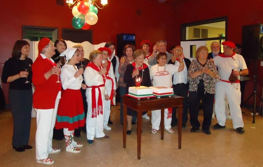 20º aniversario del centro Gure Txokoa de Azul