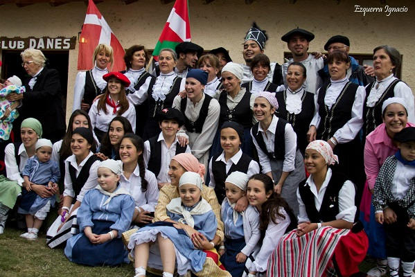 Socios del centro Mendi'ko Euzko Etxea de Bariloche
