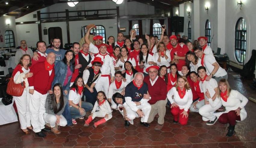 Socios y amigos del Centro Navarro de Mendoza