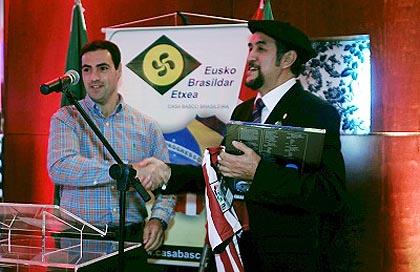 Closing Ceremony, II Basque Week in Sao Paulo