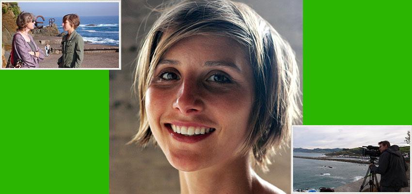 Emily Lobsenz dirigió el proyecto de principio a fin, con la ayuda de un grupo de gente, en especial la de Marcus Lehmann como director de fotografía (Fotos: E.L.)