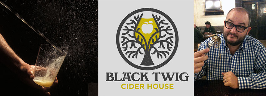 With Black Twig Cider House, Matthew Beason is willing to import  the atmosphere of Basque 'sagardotegis' to the US (Photos: M.B.)