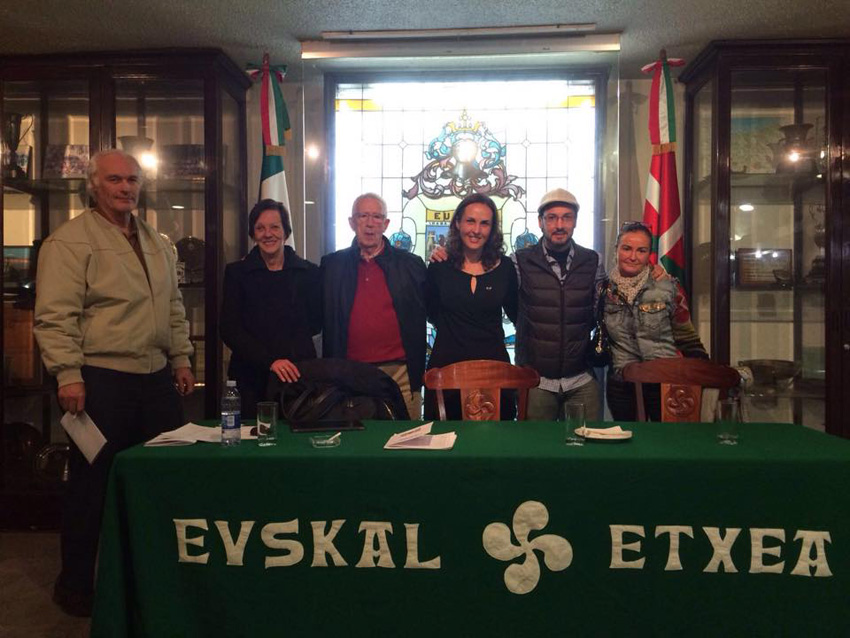 Lorea Palacios Urquiola, head of the new board of directors at the Euskal Etxea in Mexico City