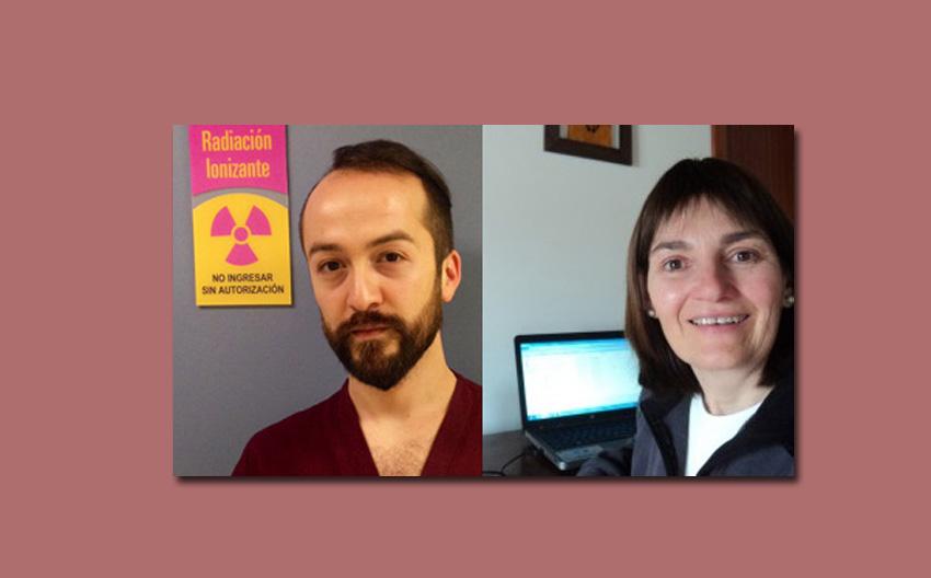 El chileno Christian Etxeberria y la argentina Elisabeth Etchegaray