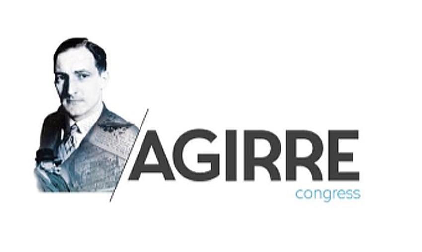 Imagen del cartel promocional del Congreso sobre el lehendakari Jose Antonio Agirre