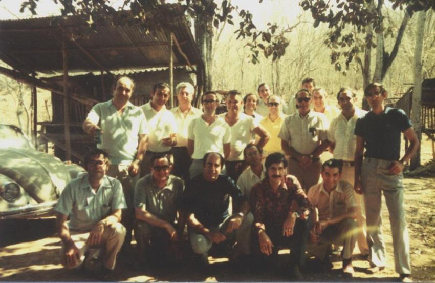 """Algunos de los vasco-venezolanos que colaboraron en la radio clandestina """"La Txalupa"""" (foto Jazoera)"""