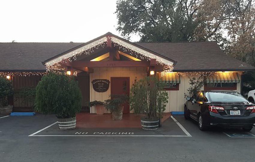 Basque Norte restaurant in Chico, California (photo BN)
