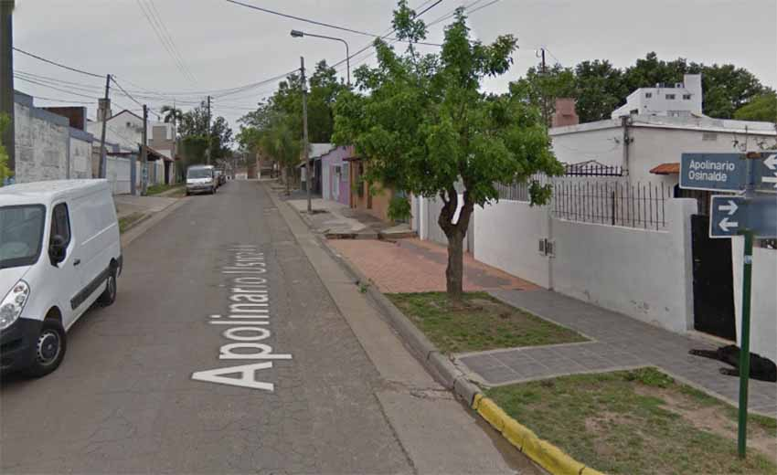 Apolinario Usinalde, Parana (Google Earth)