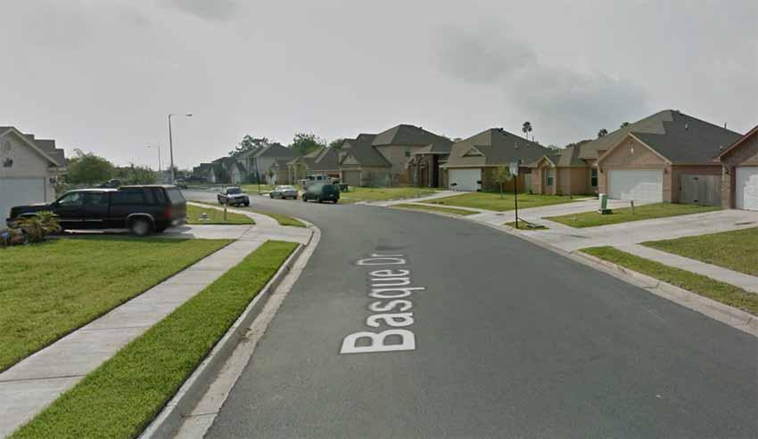 Basque Drive, Bronxville, TX (Google Earth)