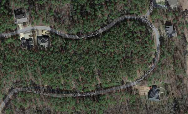 Biarritz Way, Hot Springs Village, AR (Google Earth)