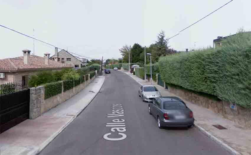 Calle Vascos, Villaviciosa de Odon (arg. Google Maps)