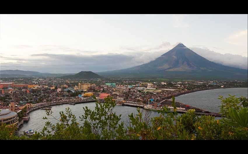 City of Legazpi, Philippines (Google Maps)