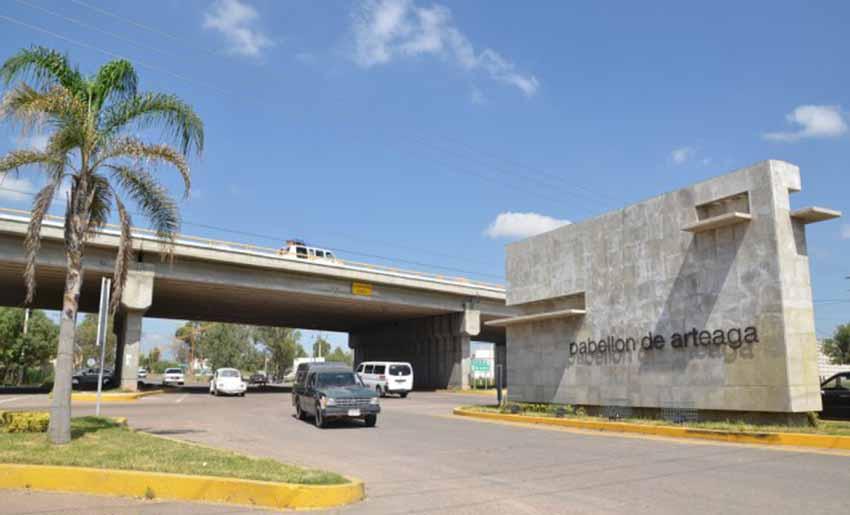 Pabellón de Arteaga (foto La Jornada)