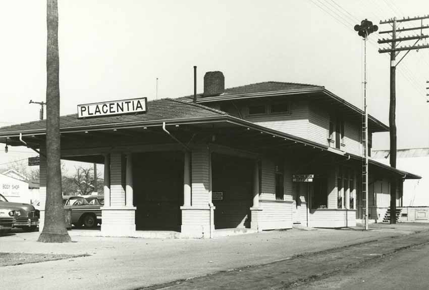 Old station, Placentia, CA (photo Kshs.org)