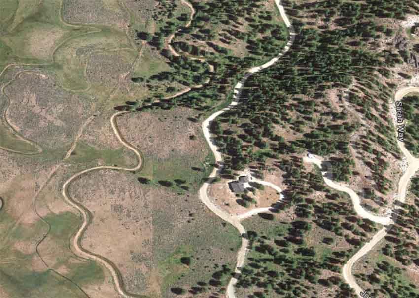 San Ignacio Way, Cascade, Idaho (Google Maps)