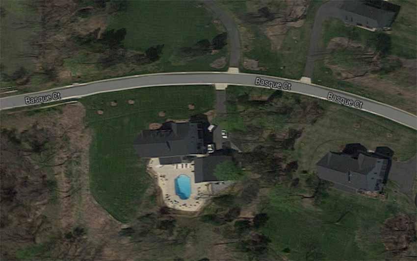 Basque Ct Leesburg VA (foto Google Earth)