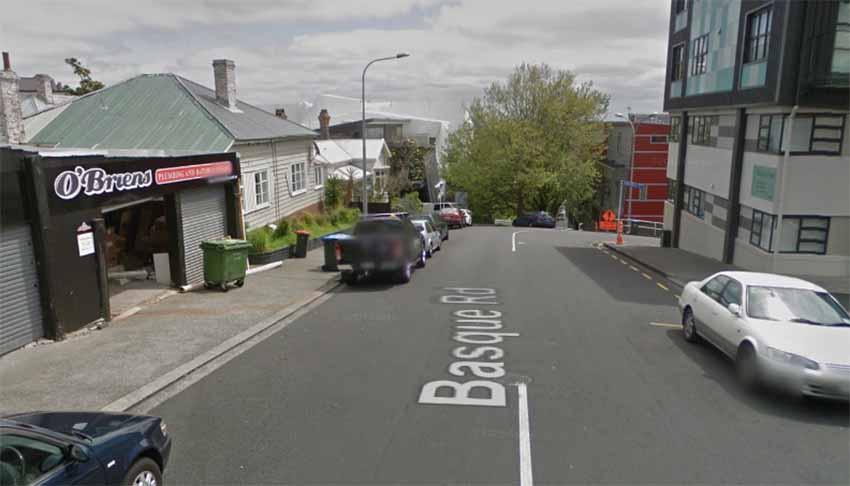 Basque Rd Eden Terrace New Zealand (photo Google Earth)
