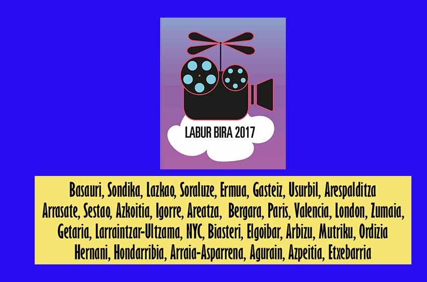 2017ko Laburbira iritsiko den herrien zerrenda