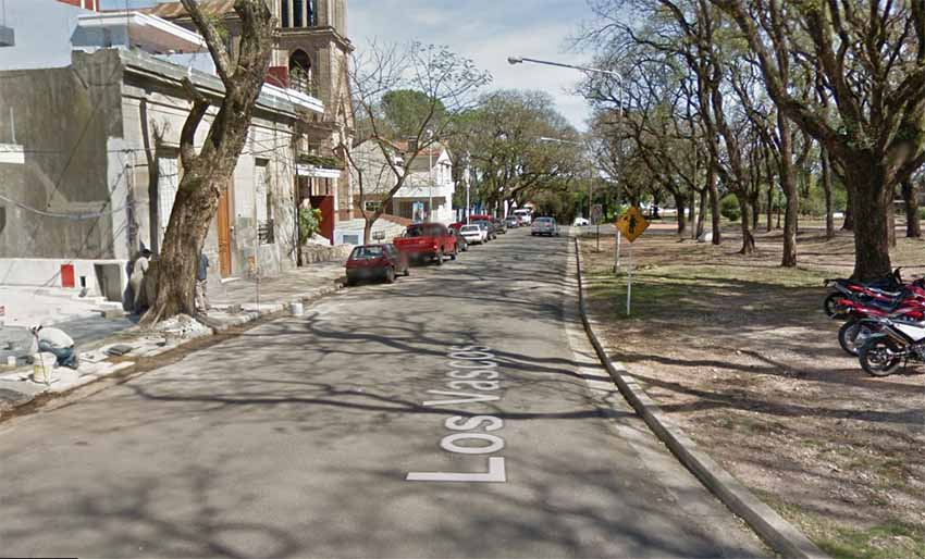 Los Vascos Paraná Argentina (arg. Google Earth)