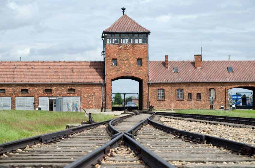 Campo de Concentración y Exterminio de Auschwitz, en Polonia (foto Cracovia.net)