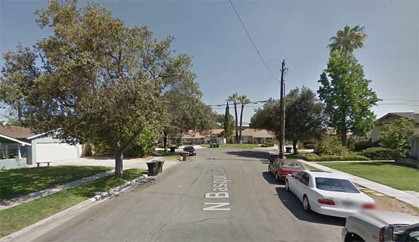 N Basque Circle Anaheim CA (photo Google Earth)