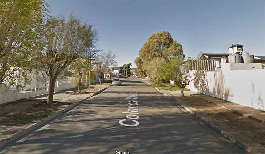 Calle Colonos Vascos Comodoro Rivadavia (arg. Google Earth)
