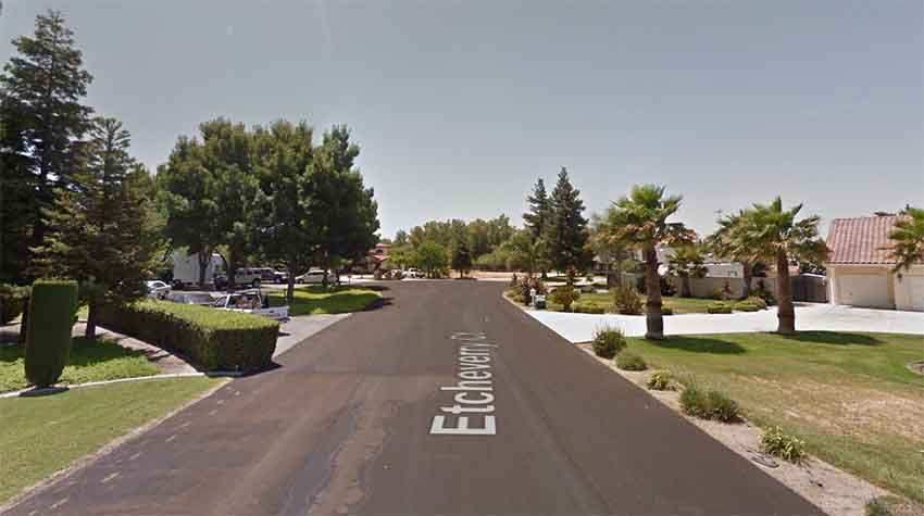 Etcheverry Court Tracy CA (arg. Google Earth)