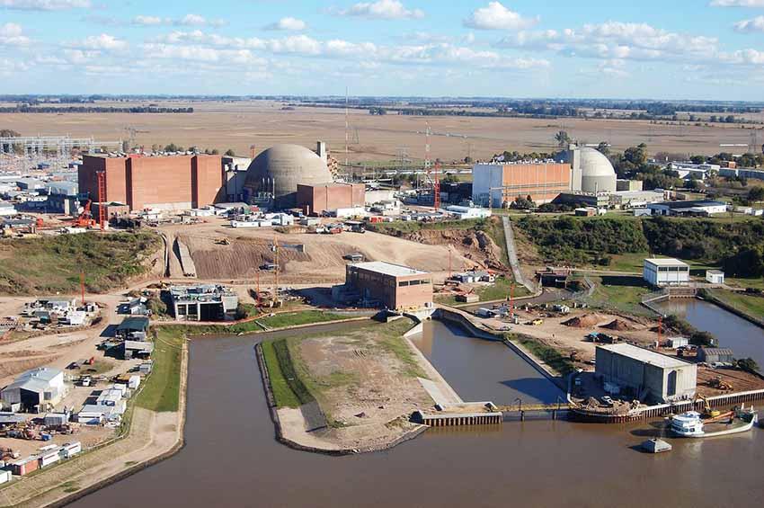 Atucha I zentral nuklearra Argentina (arg. Wikipedia)