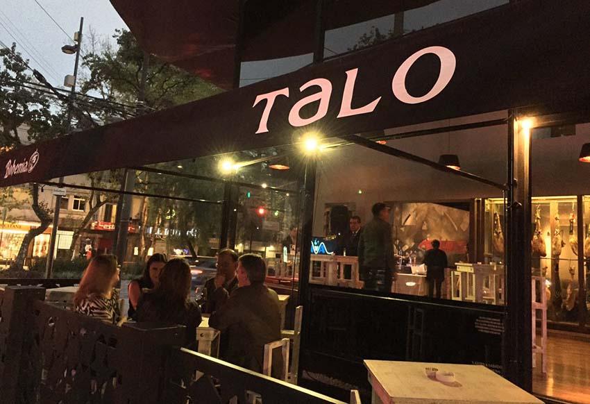 Talo jatetxea 2016an sortua Mexiko Hirian