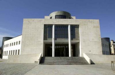 Edificio de Lehendakaritza en Vitoria-Gasteiz, sede de la Secretaría General de Acción Exterior y la Dirección para las Comunidades Vascas