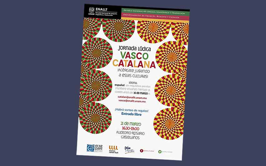 """""""Basque Catalan Leisure Day"""" is this Wednesday at the UNAM"""
