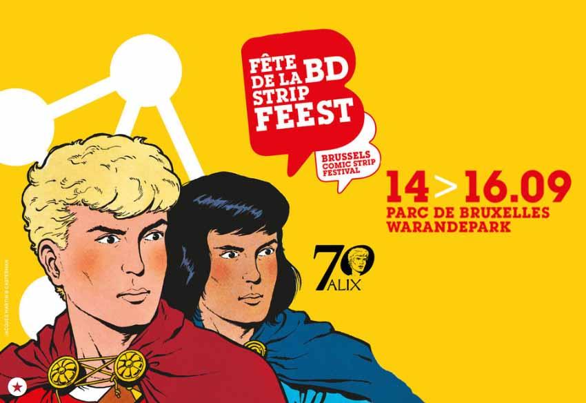La Fête de la BD - Strip Feest de Bruselas se desarrollará con participación vasca durante todo este fin de semana en la capital europea