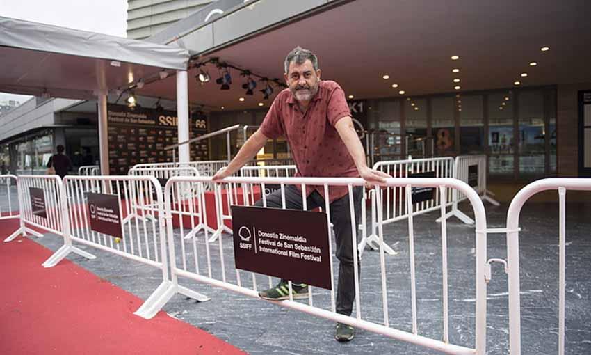 Telmo Esnal zuzendari zarauztarra (arg. Juan Carlos Ruiz / Foku - Berria)