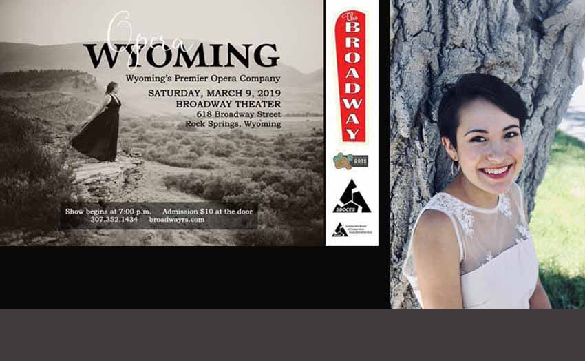 Mikaela Goicoechea will sing a Basque song by Benito Lertxundi and another by Debussy next Saturday in Rock Springs
