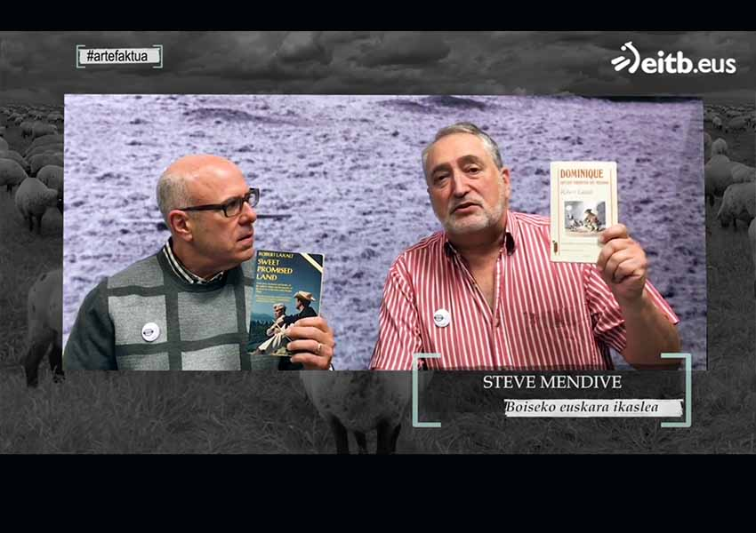 "John Bieter and Steve Mendive on the Arte[faktua] Program on ETB, talking about the book ""Sweet Promised Land,"" by Robert Laxalt"
