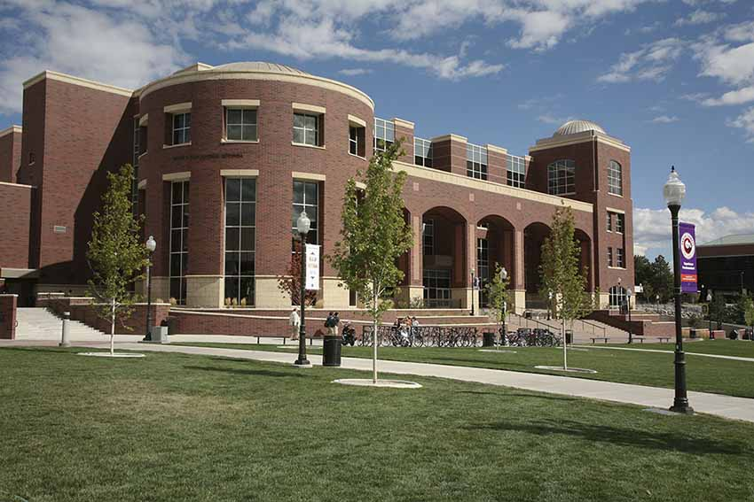 The Mathewson-IGT Building, is where the Center for Basque Studies and Basque Library are located on the University of Nevada, Reno campus