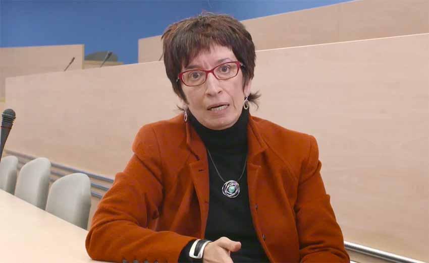 La profesora Annabel Martin dará este viernes una conferencia en el seno de la Cátedra Bernardo Atxaga de la CUNY (foto CanalEuropa.eu)