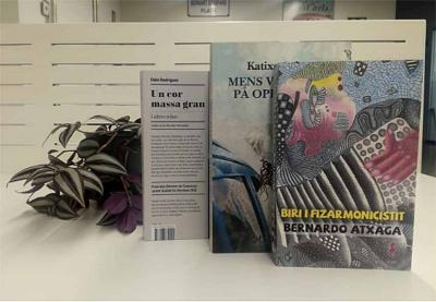 Three new translations from Basque to other languages
