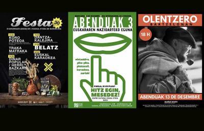 Euskal Etxea celebra este fin de semana su 40/25 aniversario; el martes 3 de diciembre el Día del Euskera; el 13, Olentzero
