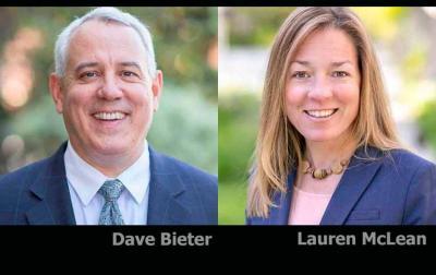 Dave Bieter eta Lauren McLean lehiatuko dira bigarren itzulian, abenduaren 3an