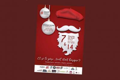 Olentzero y el Mercado Navideño Vasco en Euskal Etxea de Burdeos el 7 y 14 de diciembre